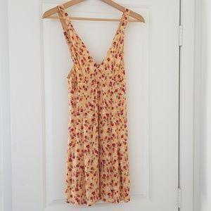 UO Evelyn Empire Waist Mini Dress
